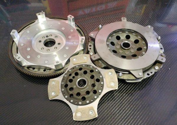 Mercedes V8 Custom Dual Disc Clutch All produkt [tag]