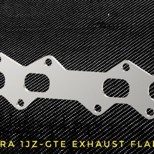 toyota supra 1jz-gte exhaust flange racing custom parts billet cnc