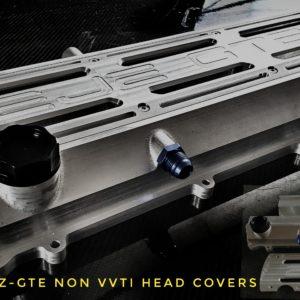 Toyota Supra 2jz-gte billet headcover racing custom parts billet cnc