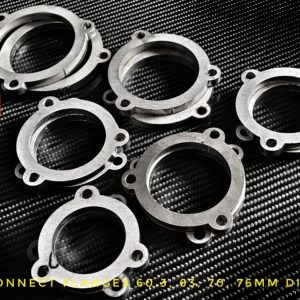 Exhaust connect flanges 2,76″ 70mm Laser Cut Parts exhaust custom