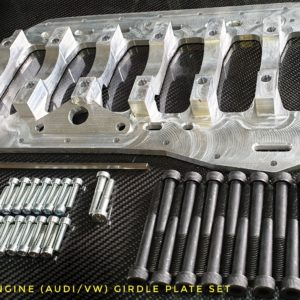 vr6 r32 girdle plate audi vw racing custom parts billet cnc