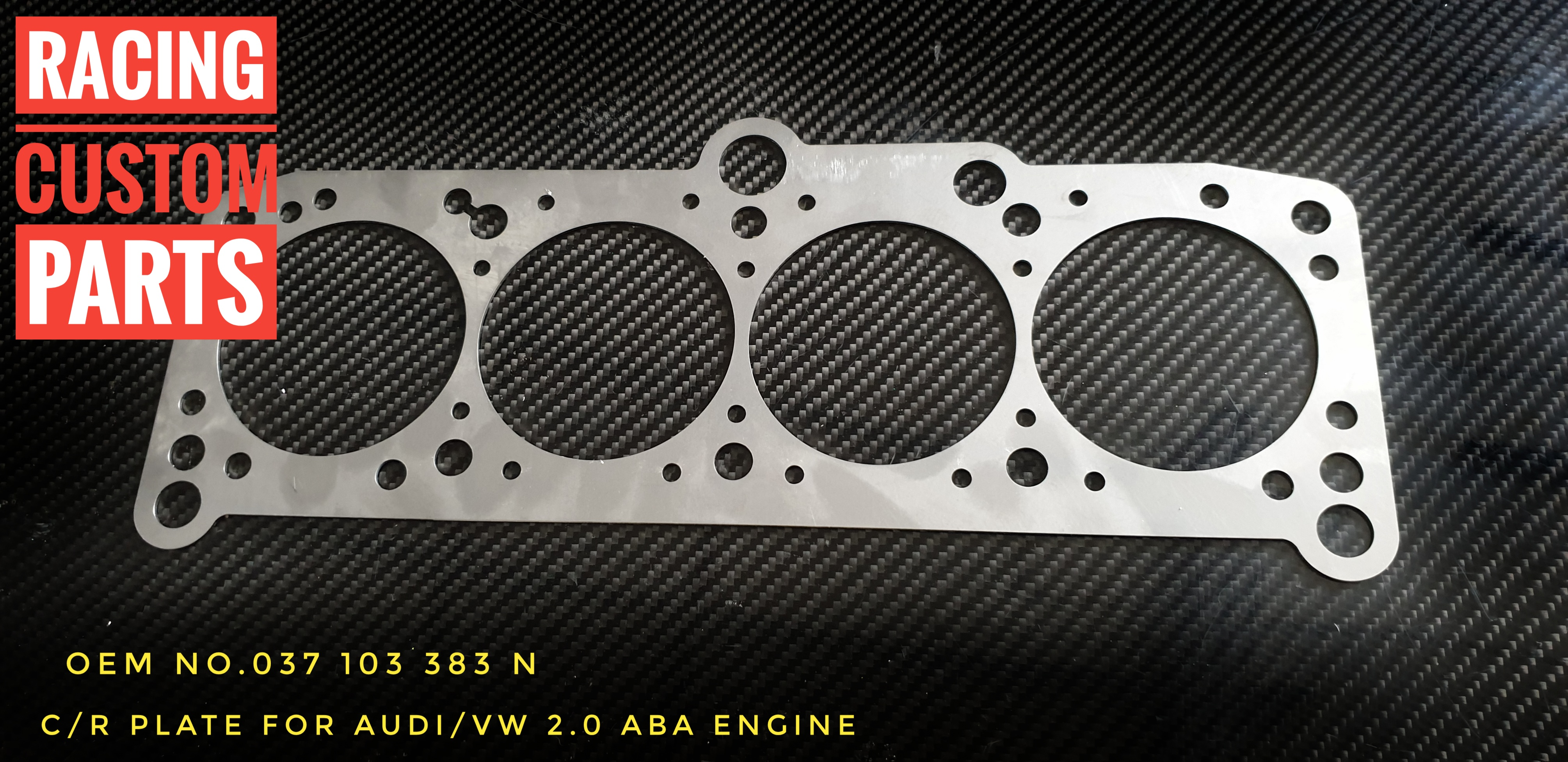 C/R Plate VW Golf ABA Engine