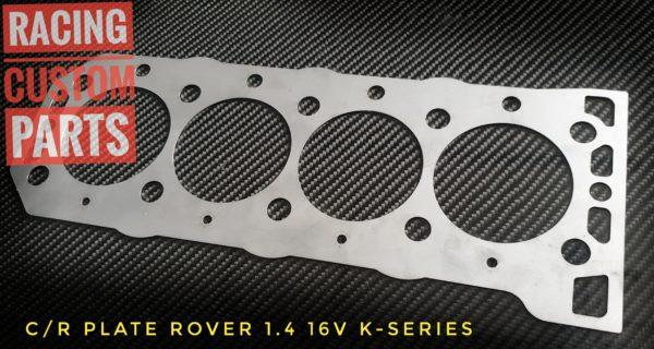 rover 1,4 16v k-series cr plate racing custom parts billet cnc