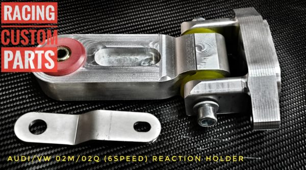 audi vw 6 speed reaction holder racing custom parts billet cnc