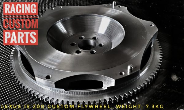 lexus is 200 custom flywheel racing custom parts billet cnc