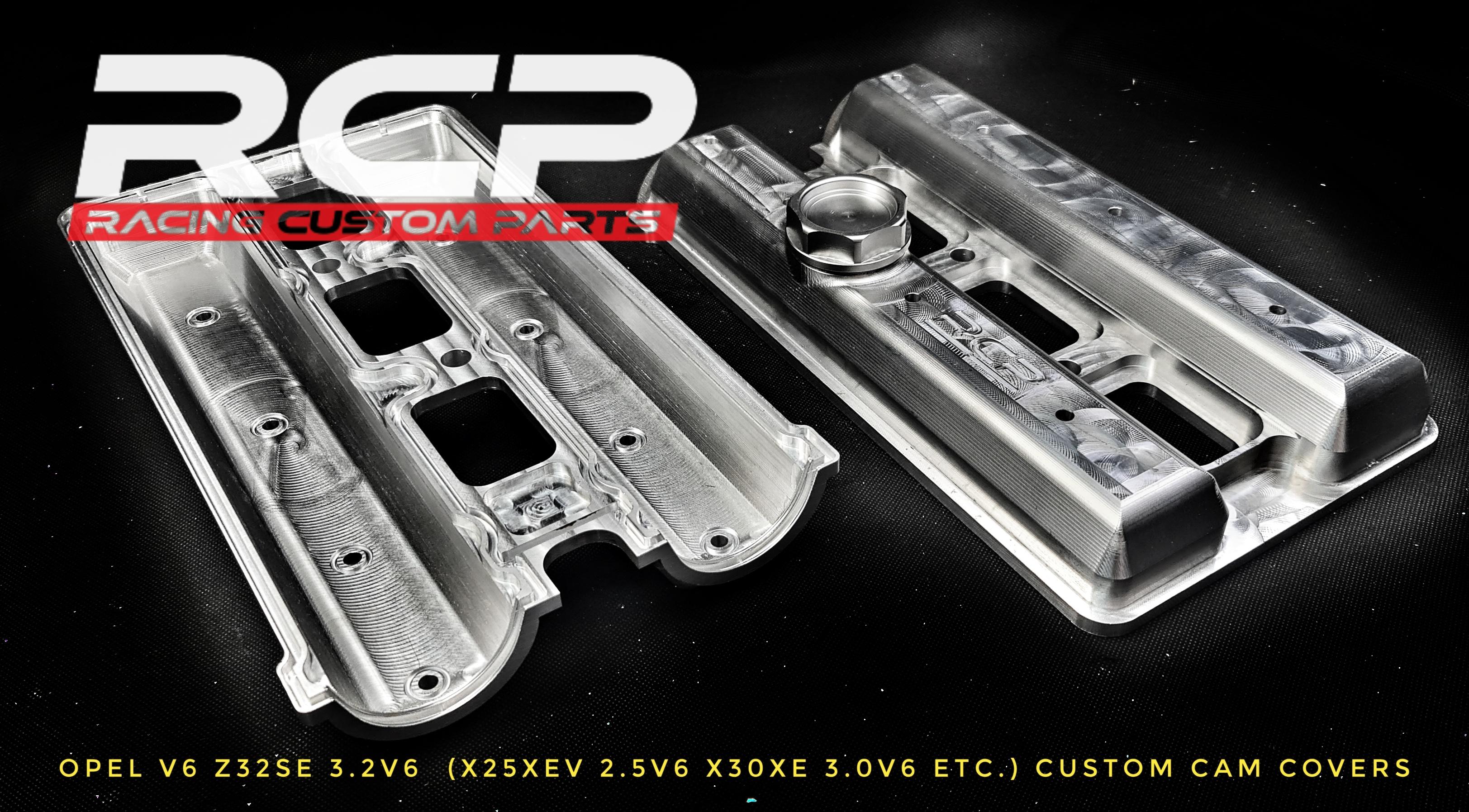 opel v6 cam head cover covers z32se x20xe x25xev x30xe y32se y26se billet cnc rcp racing custom parts calibra vectra astra signum