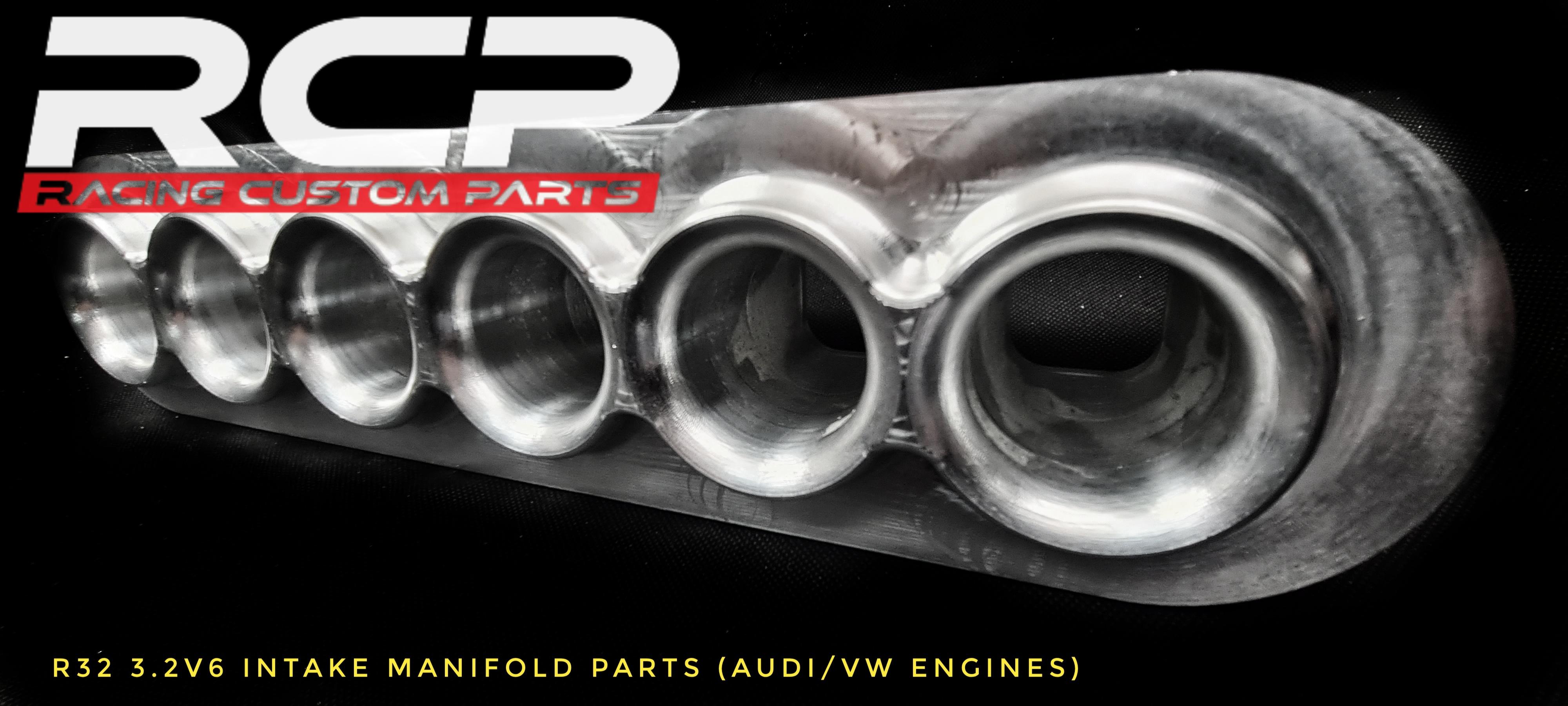 r32 audi vw 3,2v6 engine turbo intake manifold parts welding rcp racing custom parts diy vr6