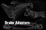 Mercedes CL500 4Matic W216 Big brake adapters Brakes 4matic brake