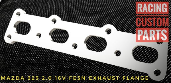 mazda 323 fe3n exhaust flange racing custom parts billet cnc