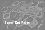Fiat Uno Turbo / Punto GT Exhaust flange Laser Cut Parts fiat uno turbo