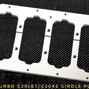 Opel Calibra Turbo C20XE / C20LET Girdle plate racing custom parts billet cnc