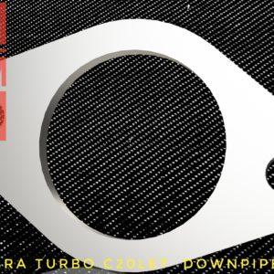 opel calibra turbo c20let downpipe flange racing custom parts billet cnc
