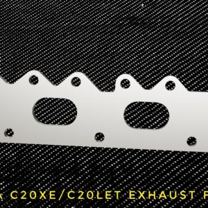 Opel Calibra Turbo C20LET C20XE Exhaust flange racing custom parts billet cnc
