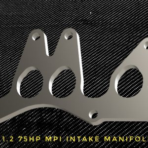 fiat punto 1,2 intake manifold flange racing custom parts