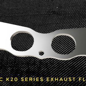 honda civic k20 exhaust flange racing custom parts billet cnc