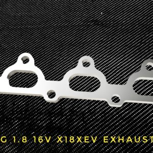 opel astra g 1,8 16v x18xev exhaust flange racing custom parts billet cnc
