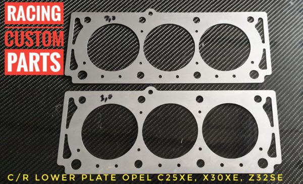 Compression rate plate Opel V6 series (X25XE,X30XE,Z32SE) All produkt astra turbo