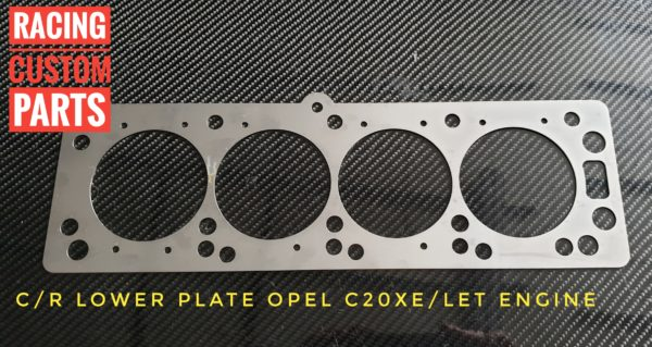 Compression rate plate Opel C20XE C20LET Z20LET All produkt astra gsi