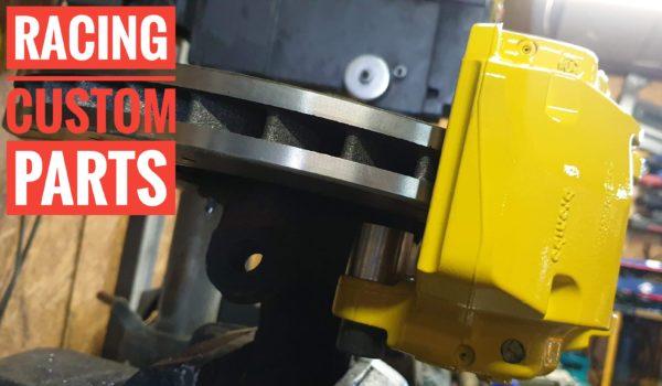 opel calibra hand brake big brake adapter racing custom parts billet cnc