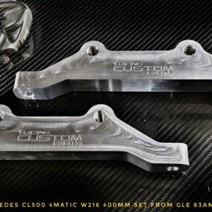 Mercedes CL500 W216 63AMG big brake adapters racing custom parts billet cnc
