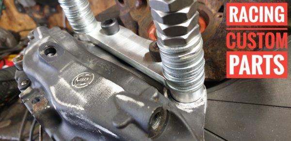 Opel Vectra B 2.5V6 big brake adapters 313mm brembo calipers racing custom parts billet cnc