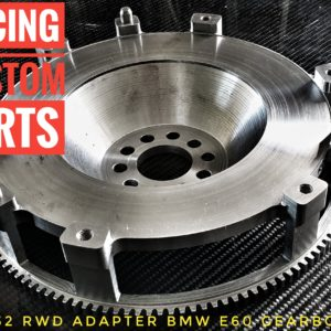 audi vw VR6/R32 Custom flywheel (RWD conversion BMW Gearbox) racing custom parts billet cnc