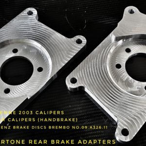 opel astra rear brake disc adapter 330mm handbrake billet cnc racing custom parts