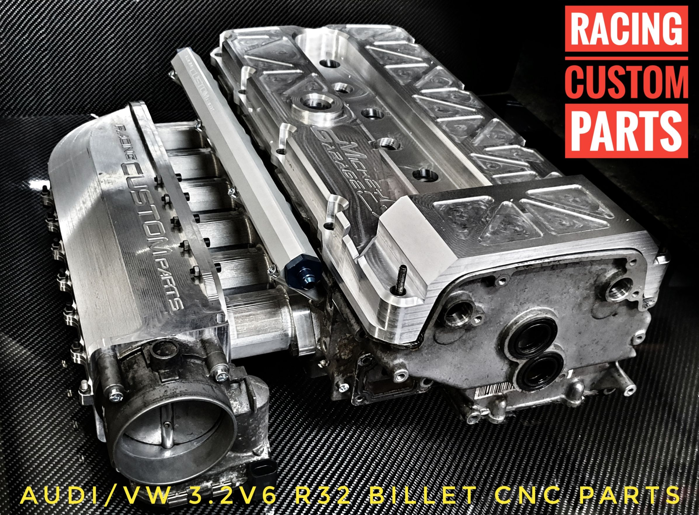 R32 3,2 V6 Audi / VW Billet cnc custom intake manifold turbo cnc racing custom parts