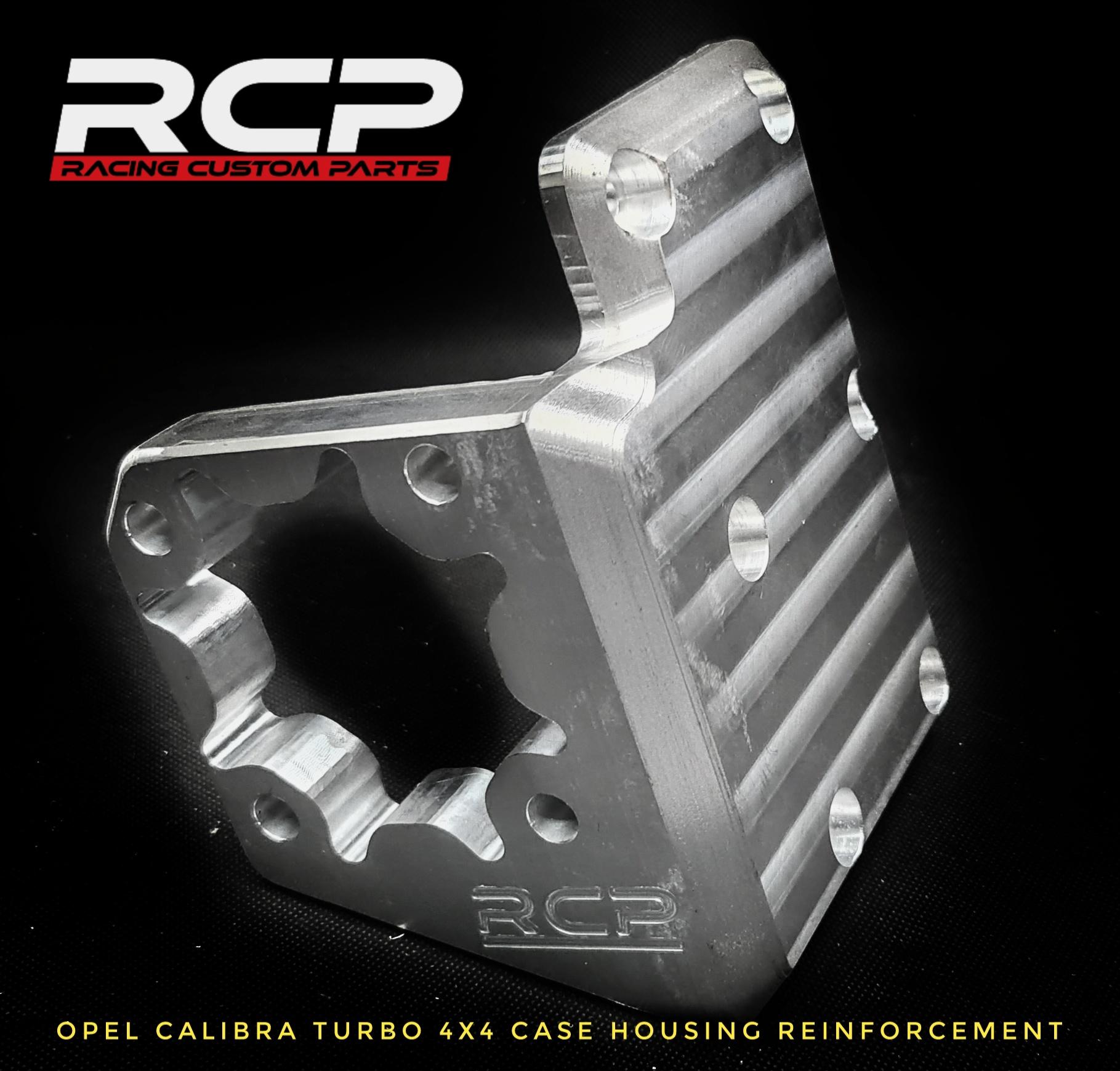 opel calibra turbo c20let transfer case 4x4 reinforcement plate billet cnc racing custom parts
