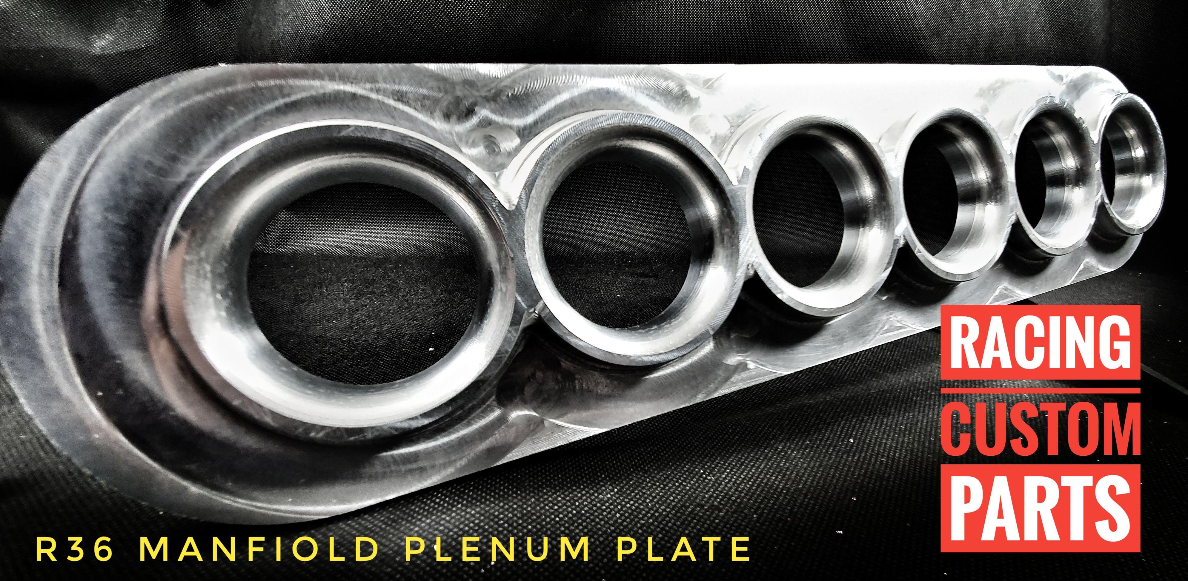 R36 audi vw passat 3.6 v6 custom billet cnc intake inlet manifold plate mpi adapter racing custom parts