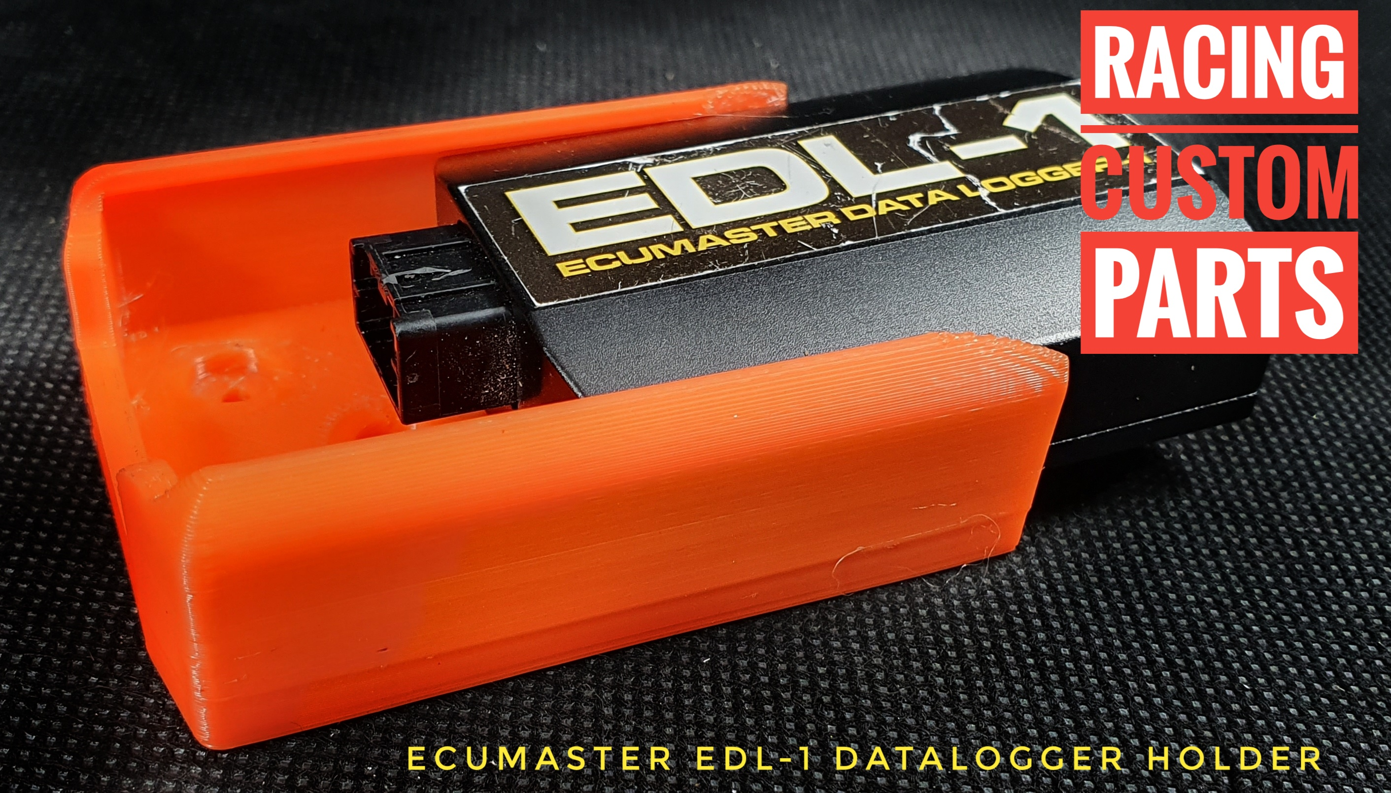 Ecumaster EDL-1 Data logger holder racing custom parts 3d printed parts
