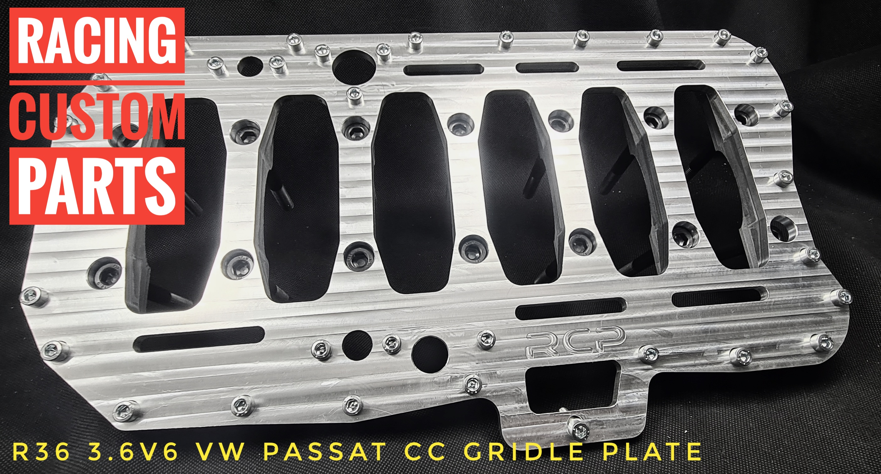 r36 3,6v6 passat cc audi wv girdle plate racing custom parts billet cnc turbo
