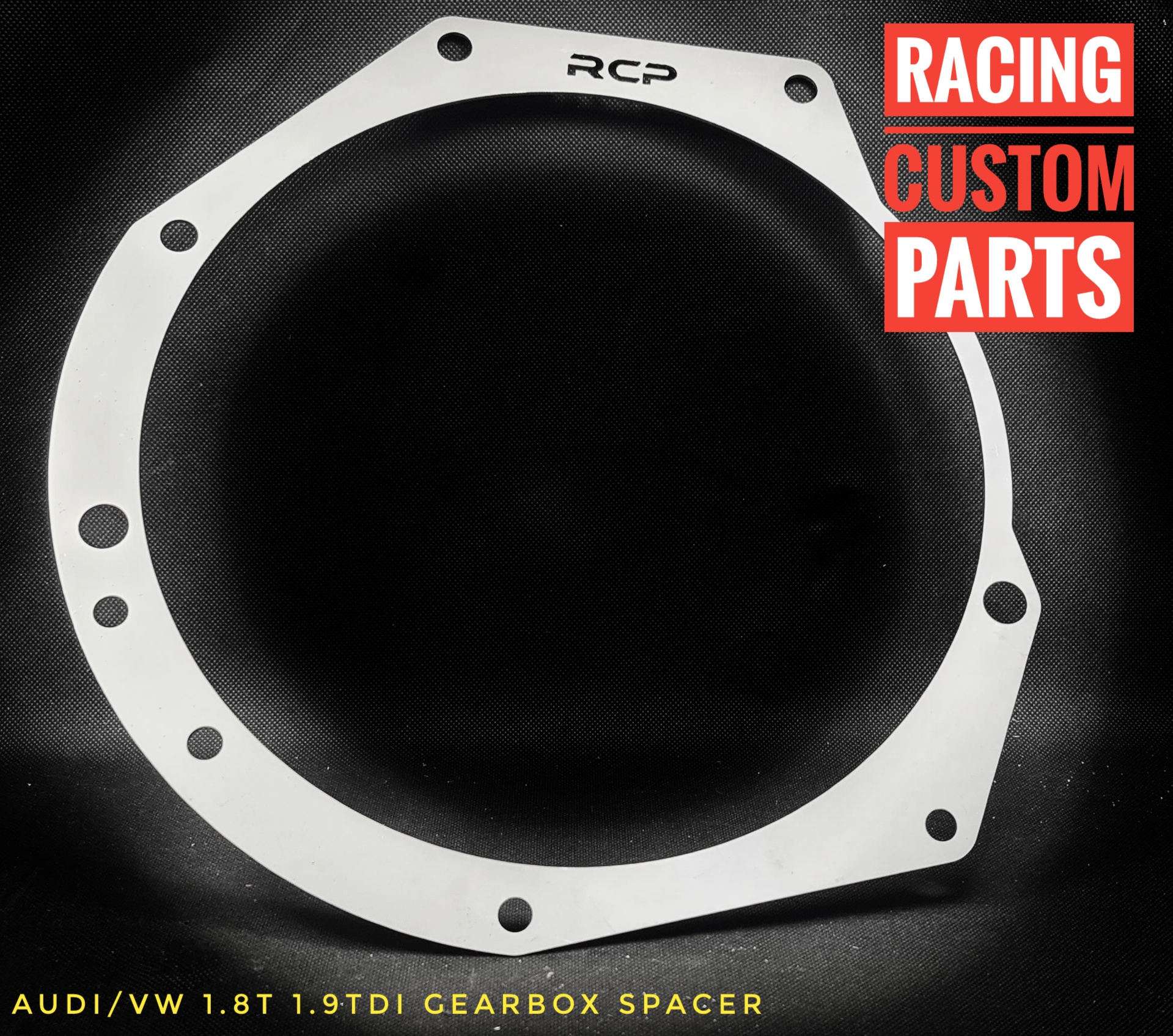 audi vw 1,8 turbo 1,9tdi gearbox spacer clutch racing custom parts billet cnc