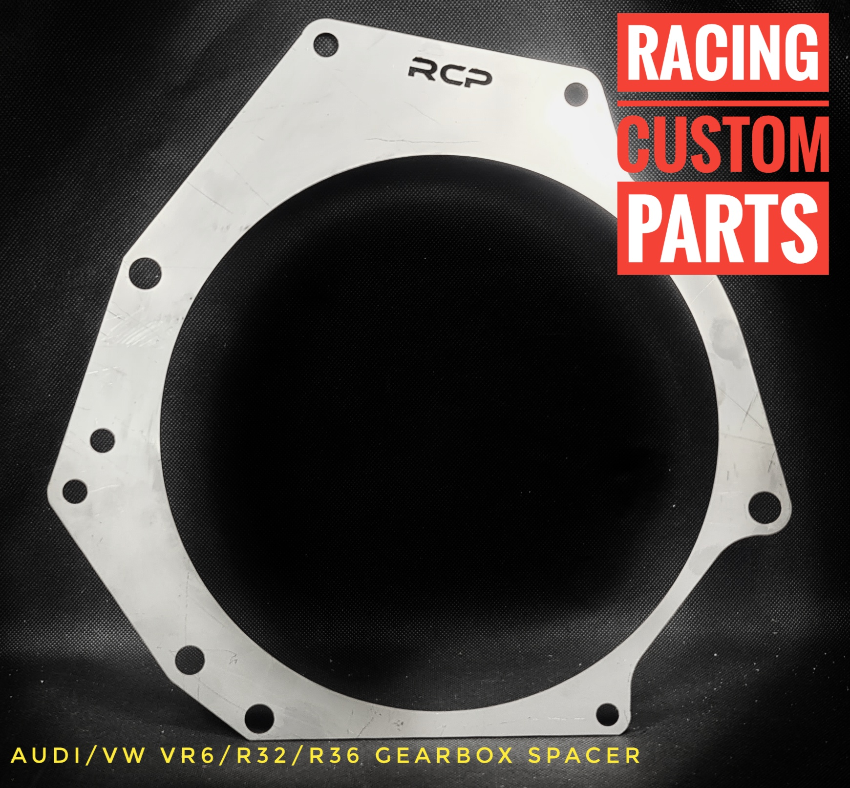 audi vw vr6 r32 r36 gearbox spacer clutch racing custom parts billet cnc