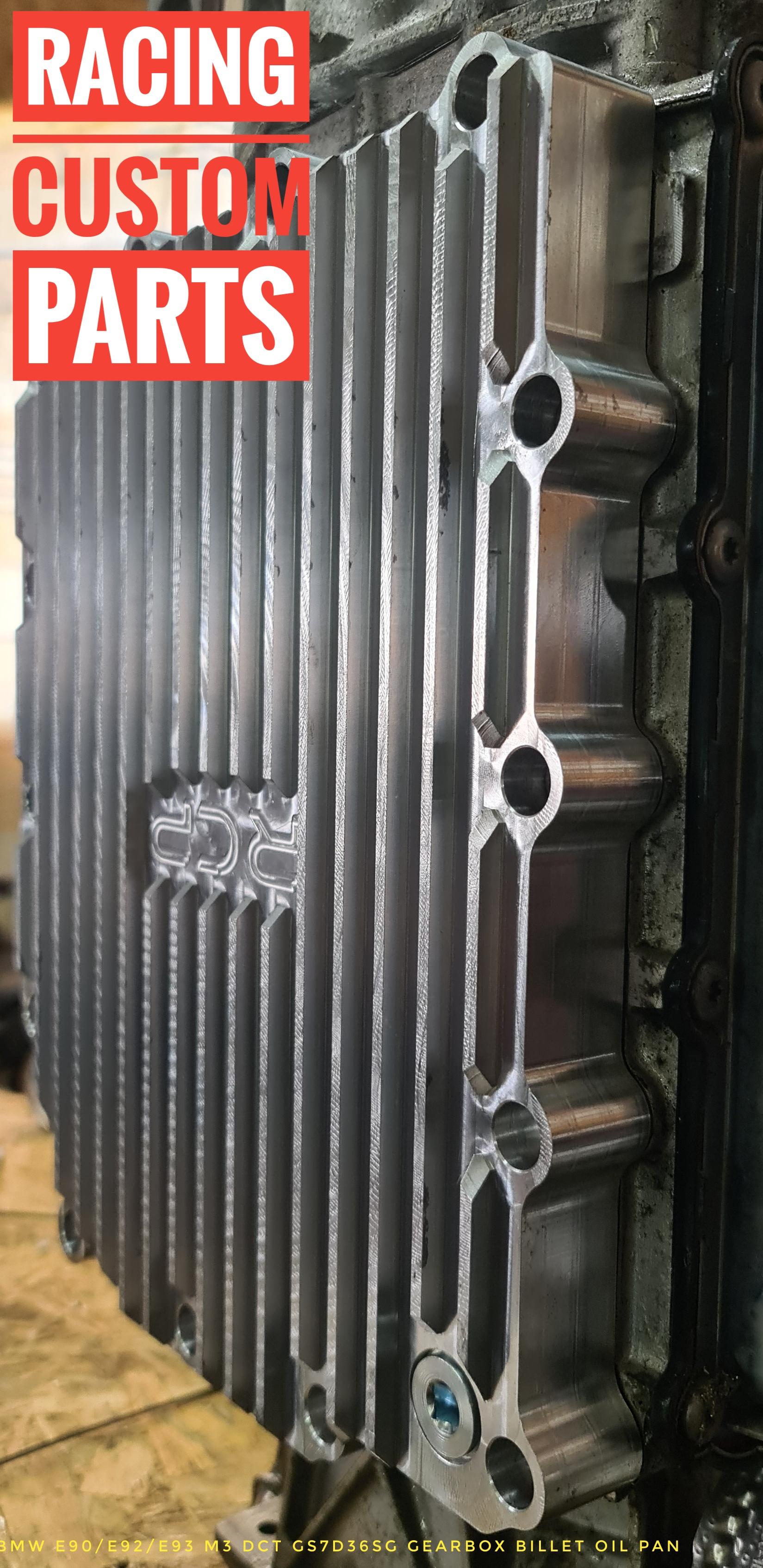 BMW E90 E92 E93 M3 GS7D36SG billet cnc oil pan drift racing dct dsg racing custom parts
