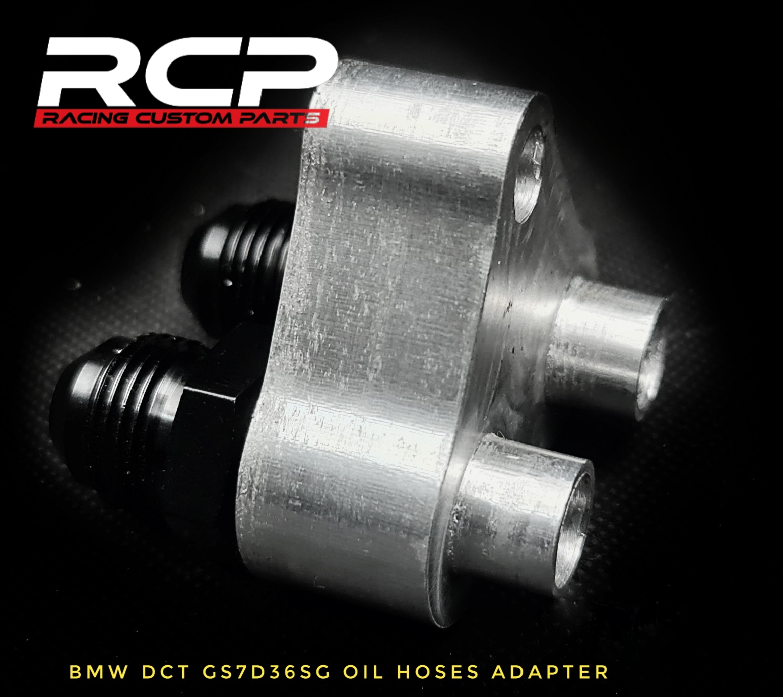 bmw dct oil hoses adapter an fittings gs7d36sg racing custom parts billet cnc drift