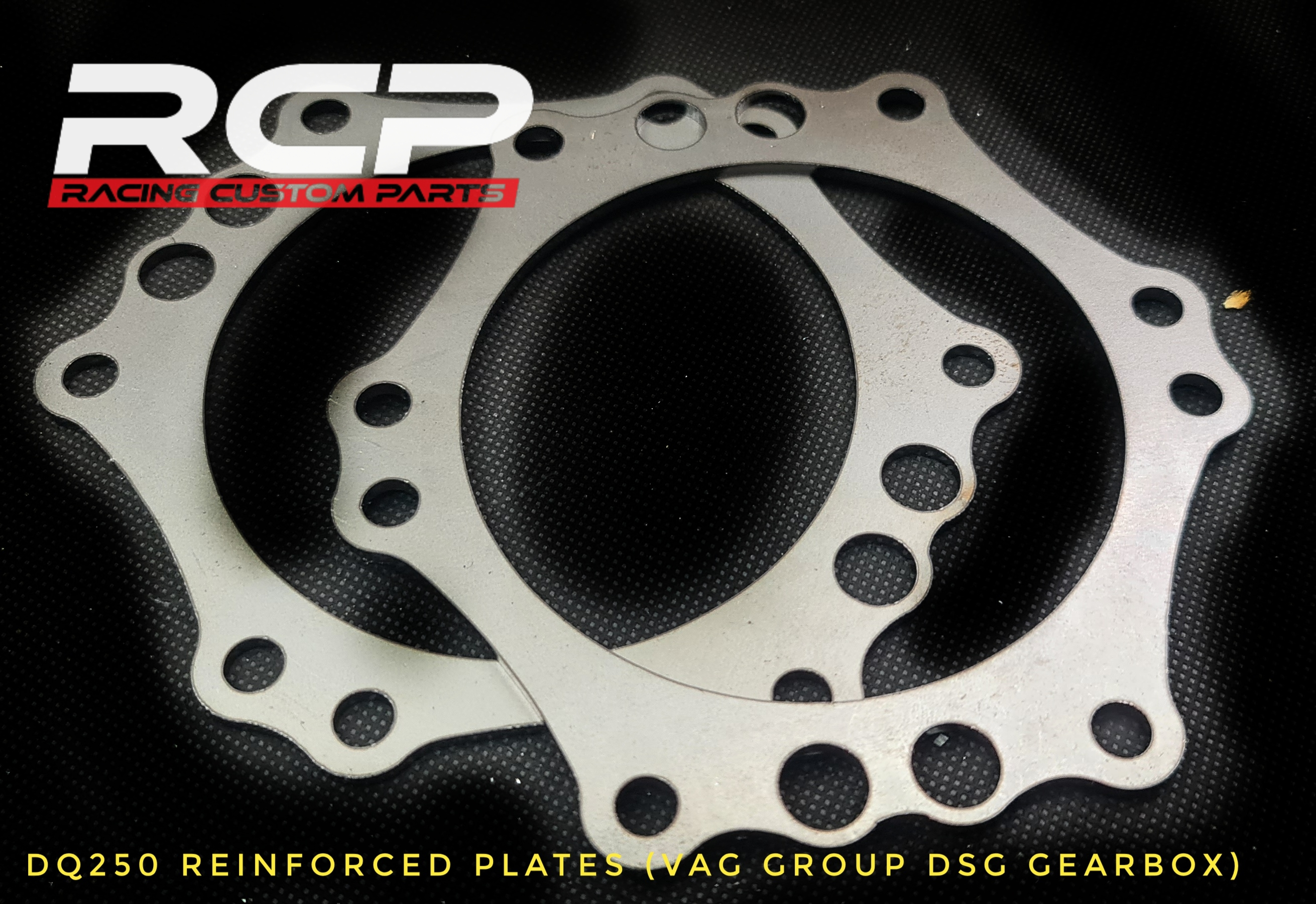 dq250 reinforced plates custom flywheel billet cnc racing custom parts dsg vag group gearbox