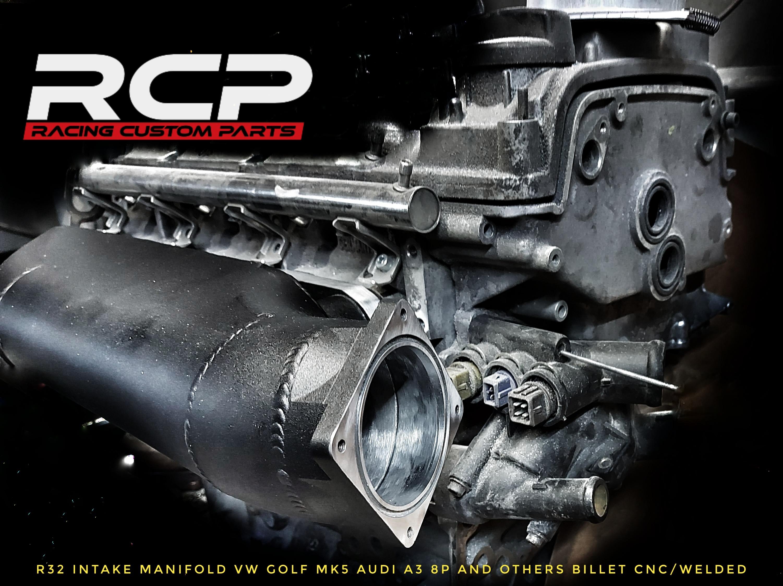 R32 Custom intake manifold VW Golf mk5 audi A3 8p and similar All produkt 3.2v6turbo