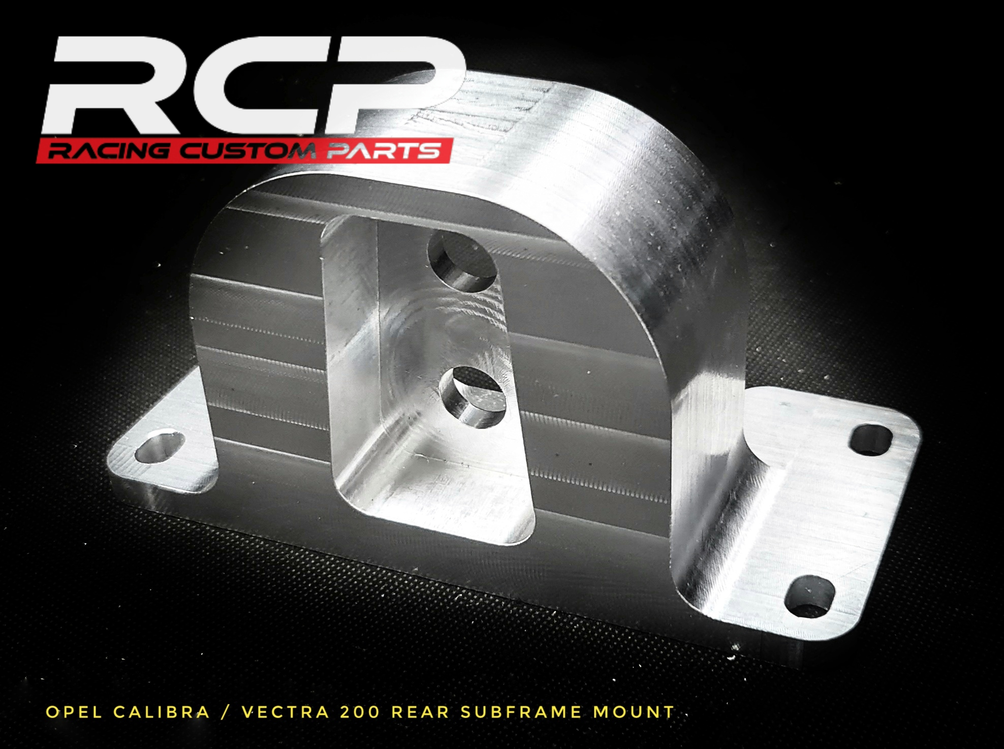 opel calibra turbo 4x4 vectra 2000 rear diff differential subframe mount holder c20let rcp racing custom parts billet cnc